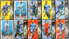 Signed COVENTRY CITY Cards Panini Championship Birchall Christie Keogh Page Ward