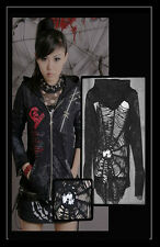 NEW Punk Rave Gothic Rock Unisex Hoodie Jacket Y-235 ALL STOCK IN AUSTRALIA!
