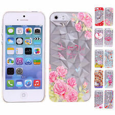 Cheap 3D Crystal Hard Durable Back Cases Covers Skin Shell For Apple iPhone 5 5S