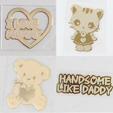 TPD 24K Gold Plated Anti Radiation Block Shield Sticker Family series for Phone