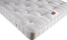"New mattress - Luxury Deluxe Sprung Mattress 8"" Thickness - Damask Fabric"