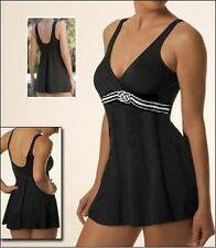 MIRACLESUIT MIRACLE SWIMDRESS SWIM SUIT BLACK 10-18 SWIMMING BATHING COSTUME