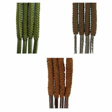 Round 2/3mm Laces - Browns/Naturals - All Lengths - For Boots, Shoes & Trainers