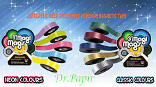 5M CLASSIC/NEON MULTIPLE COLOURS SELF ADHESIVE MAGNETIC TAPE