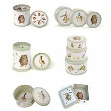 Wrendale Designs - Countryside / Wild Animal - Cake or Biscuit or Storage Tins