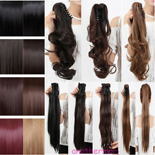 Good Offer Clip in Hair Extensions Jaw/Claw Ponytail pony tail Fake Hair
