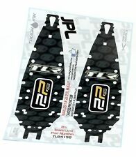 Team LOSI TWENTY-TWO 22 V2 BUGGY 10Mil Chassis Protectors x 2 VERY TOUGH