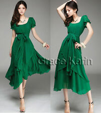 Cheap Ladies Sundress Cocktail Vintage Formal Prom Celeb Prom Ball Party Dresses