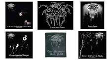 Darkthrone Sew On Patch/Patches NEW OFFICIAL Dark Throne. Choice of 6 designs
