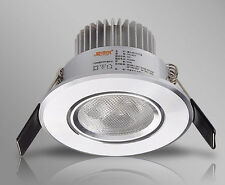 1pc 3W Chip LED White/Warm  Spotlight 50-60mm Hole size for Living Room TV Wall