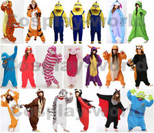 Adult Onsie Unisex Onesies Kigurumi Animal Pajamas Cosplay Costume Sleepwear