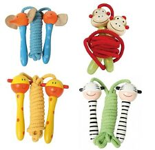 New Cute Girls Wooden Skipping Jump Rope Wood Toy /Animal /Kid / Party  Prize