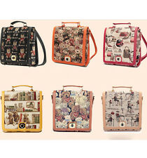 Preppy Canvas New Rucksack Women Fashionable Bear Satchel Shoulderbag 6Colors