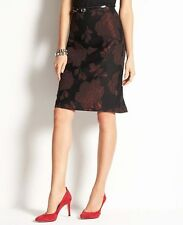 Ann Taylor Floral Jacquard Skirt NWT! Org. $98 Free Shipping! (IN)