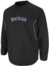 Colorado Rockies Majestic Authentic Therma Base Tech Fleece Big & Tall Sizes