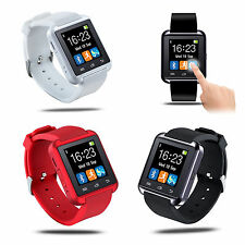 U watch Waterproof Bluetooth Smart Watches Bracelet for iPhone IOS Android SMS
