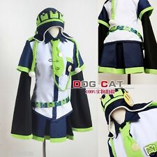 DMMD Dramatical Murder Noiz white Black Green Cosplay Costume Hat Included