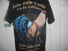 GAME ROOSTER OR GALLOS OR GMAEFOWL OR COCK FIGHTING   T- SHIRT