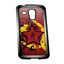 Cover for Galaxy S3/S4 Mini #463 Red Star Russian CCCP Communist chic emo
