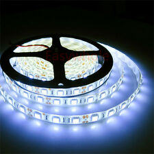 Cool White 5M 300leds 5050 SMD LED Strip Lights Outdoor Waterproof Lamps 12V New