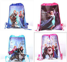Disney Backpack Frozen Swimming Clothes Environmental PE Toy Drawstring Bag.