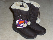 NWT Totes Kids Tabatha Winter SNOW Insulated Boots Waterproof Youth Sizes Cute
