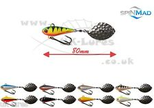 SpinMad TAIL SPINNER JAG 18g VAR. Colours. PIKE, PERCH, ZANDER, CHUB, UK-Lures