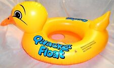 Inflatable duck baby boating swimming seat kid child aid float pool children
