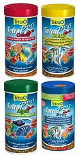 TETRA PRO CRISPS COLOUR, ENERGY, ALGAE & MENU, MULTI LISTING, FISH FOOD, STICKS