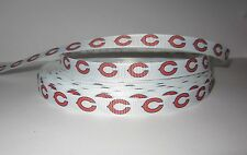 "GROSGRAIN CHICAGO BEARS FOOTBALL 3/8"" INCH RIBBON 1, 3, 5 YARDS **SHIPS FREE**US"
