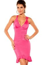 Purple/Pink/Red Glamorous Ruched Evening Dress Sleeveless Summer Clubwear LC6124
