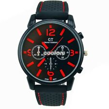 MEN WATCHES NEW STAINLESS STEEL MEN SPORT QUARTZ HOURS WRIST Analog WATCH new