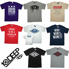 10 DEEP T-Shirt -  Men's Streetwear T Shirt Clothing NYC