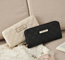 NEW Kardashian Kollection Wallet Purse Clutch Women Black/White BA56