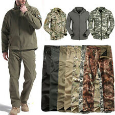 Men Outdoor Hunting Camping Waterproof Coats Jacket Army Military Outerwear