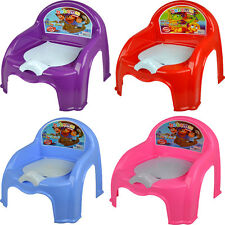 CHILDRENS POTTY TOILET SEAT BOYS GIRLS CHAIR EASY CLEAN KIDS TODDLER TRAINING
