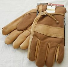 Carhartt Leather Duck Gloves Insulation Thinsulate Mens New NWT Model A567