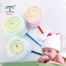 4PC/Lot MMY Brand Cotton Towel Bamboo Baby Washcloths Face Hand Towels 25cmx25cm