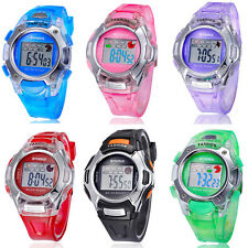 New Multifunction Waterproof Child Boys Girls Sports Electronic Watches Kids