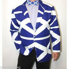 Scotland Flag All Over design Fancy Dress Jacket - Saltire - commonwealth games