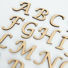 30mm MDF Craft Wooden Alphabet Letters, numbers & sets in Lucida Calligraphy