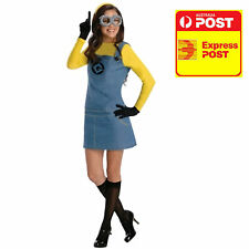 Female Minion Costume Licensed Movie Character Fancy Dress