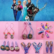 HOT Princess Frozen Queen Elsa COS Snowflake Hairpin Hair Headdress 2 pcs