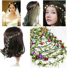 Flower Headband Hairband Headpiece Crown Boho Festival Bridal Wedding Party