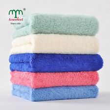 """MMY Brand Microfiber Towels Plush Hair Towels Absorbent Drying Washcloths 14*30"""""""