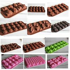 Silicone  Baking Mould Mold Chocolate Cake Cookie Muffin Candy Jelly Ice Cube