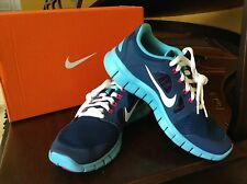 NEW IN BOX NIKE Girls' Free 5.0 Running Shoes - Grade School (Multiple Sizes)
