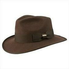 Conner Hat Co. Wool, Crushable, Waterproof INDY FEDORA