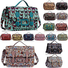 Girls School Bags Satchel Boys College Kids Shoulder Messenger Large Cross Body