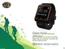 U3 Bluetooth Smart Watch WristWatch Phone For Android S3 S4 S5 I9500 I9600 SY